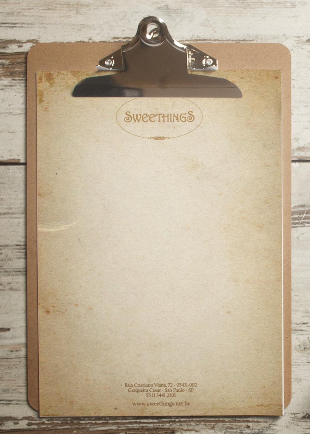 Papel Timbrado Sweethings