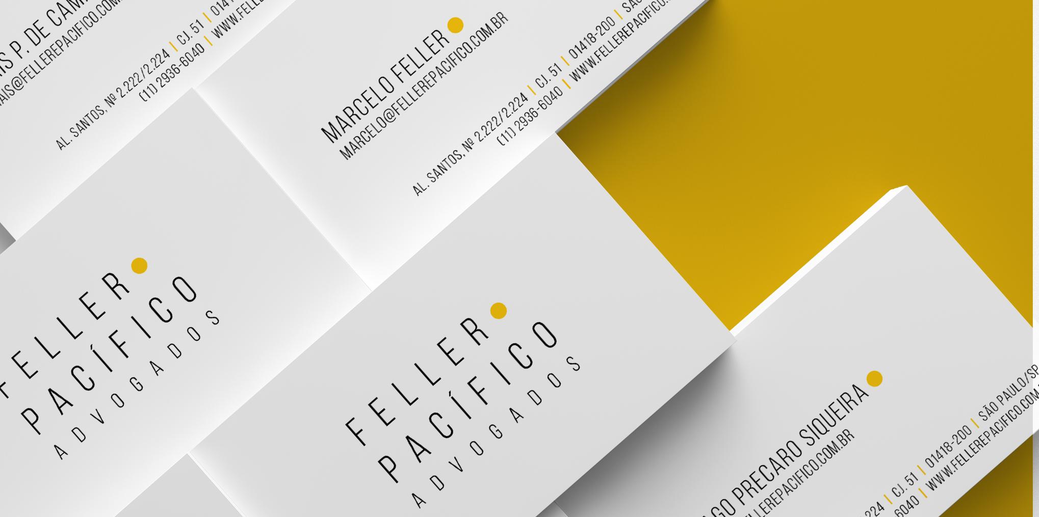 Logomarca Feller e Pacífico Advogado