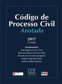 Codigo Processo Civil Anotado 2017