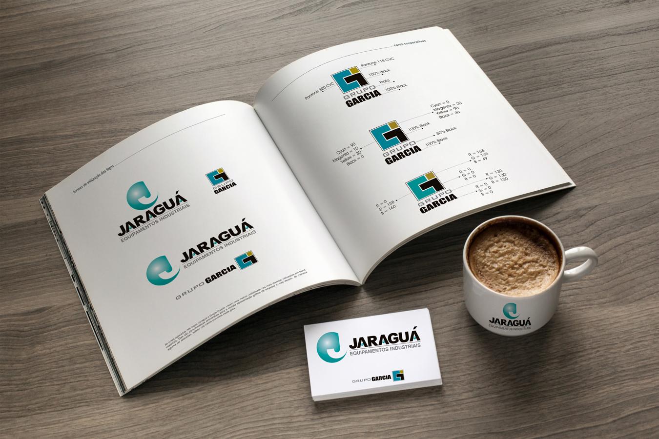 BrandBook Grupo Garcia / Jaraguá