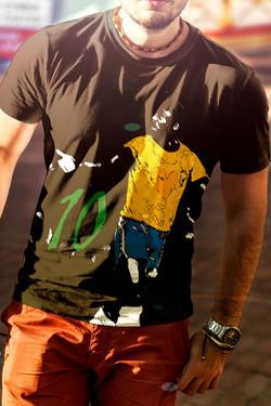 Camiseta / Estampa Pelé