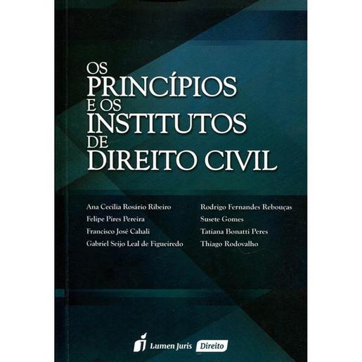 Os Princípios e os Institutos de Direito Civil, 2015