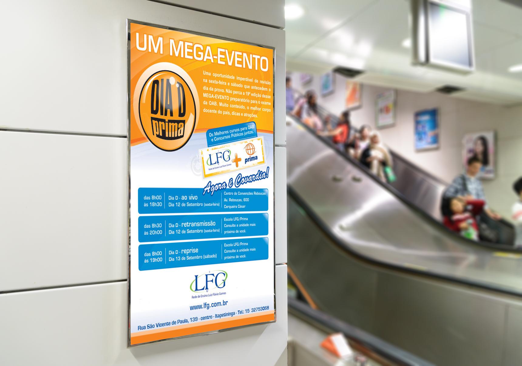 Cartaz Dia D - LFG