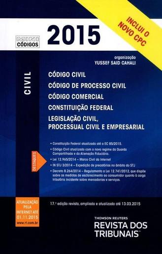 Organização Mini Códigos Civil, 2015