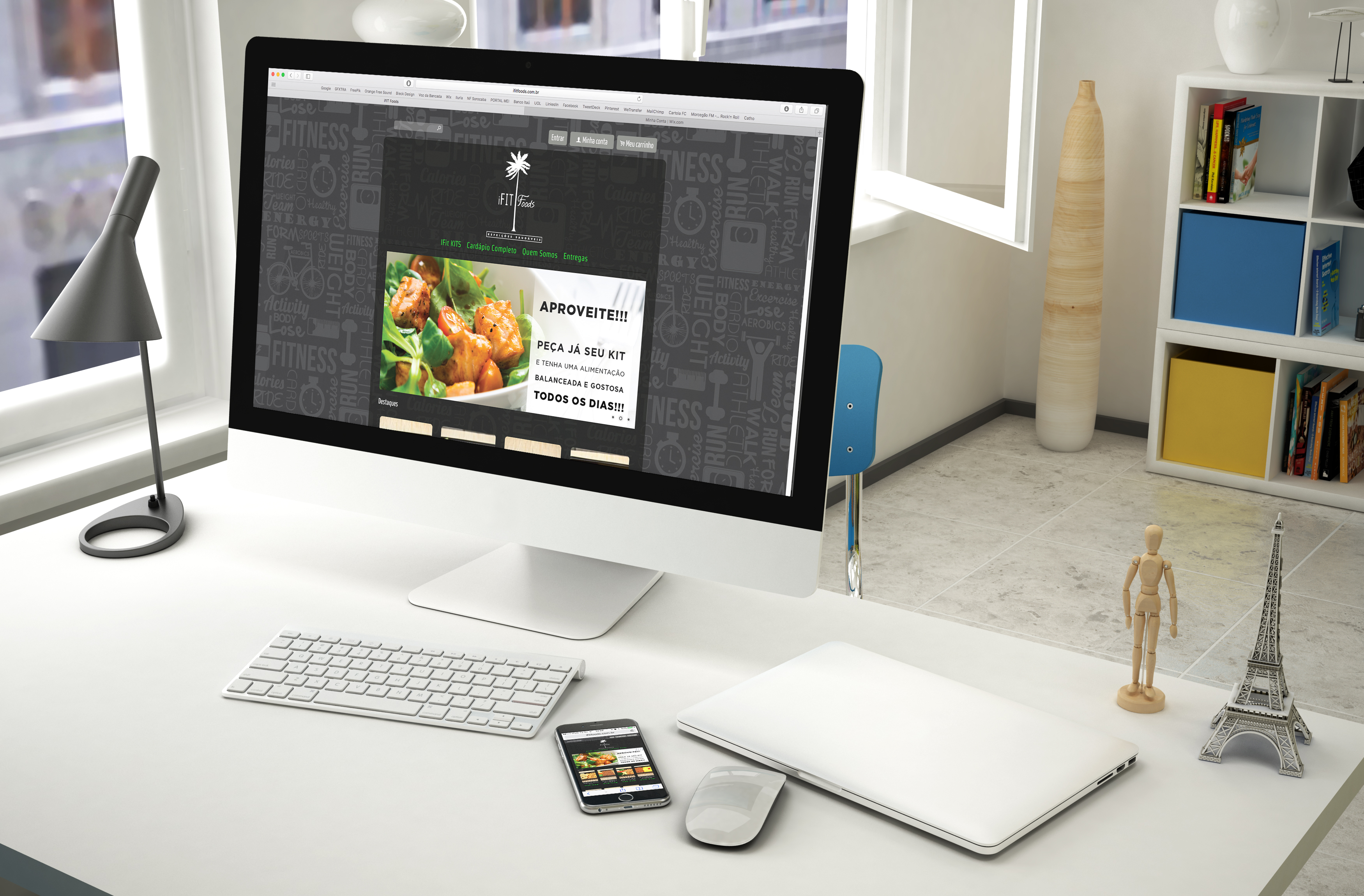 IfitFoods Website (e-commerce)