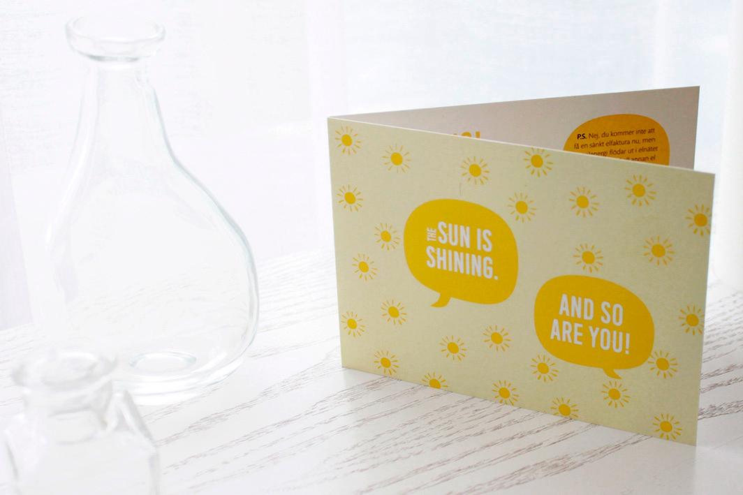 Design gåvokort