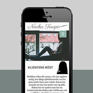 Webbsida Nacka terapi