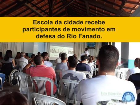 MINAS NOVAS – CIDADE REALIZA SEMINÁRIO EM DEFESA DO RIO FANADO.