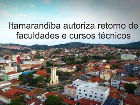 ITAMARANDIBA – VIDA VOLTANDO AO NORMAL.