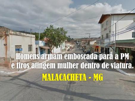MALACAHETA – POLÍCIA MILITAR É VÍTIMA DE EMBOSCADA.