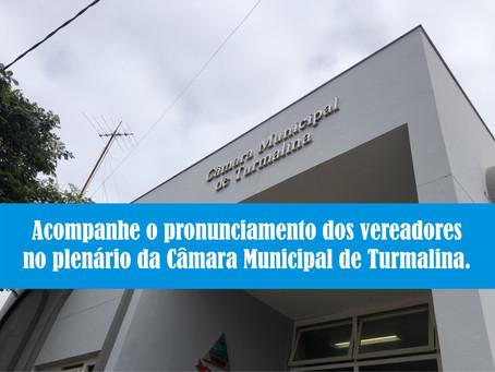 TURMALINA – PALAVRA DOS VEREADORES / 19.10.2020.