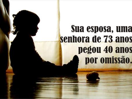 MINAS GERAIS – IDOSO DE 75 ANOS É CONDENADO À 65 ANOS DE PRISÃO.