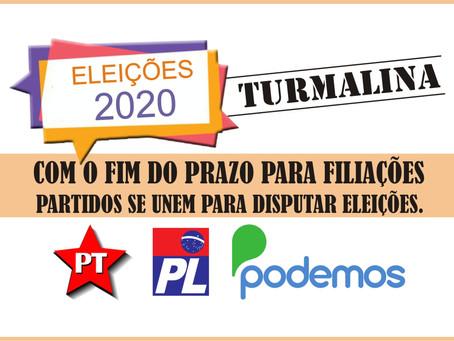 TURMALINA – ELEIÇÕES MOVIMENTAM PARTIDOS POLÍTICOS.