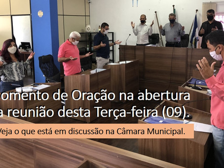 TURMALINA – SAIBA O QUE ACONTECEU NA REUNIÃO DA CÂMARA DESTA TERÇA-FEIRA.