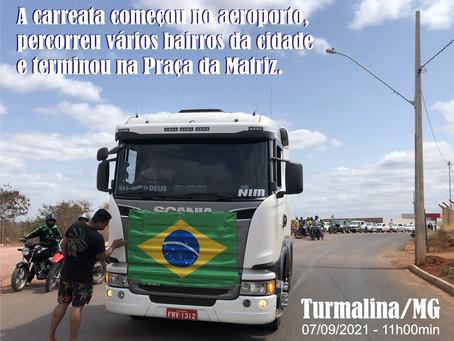 TURMALINA – CLIMA DE FINAL DE COPA DO MUNDO.