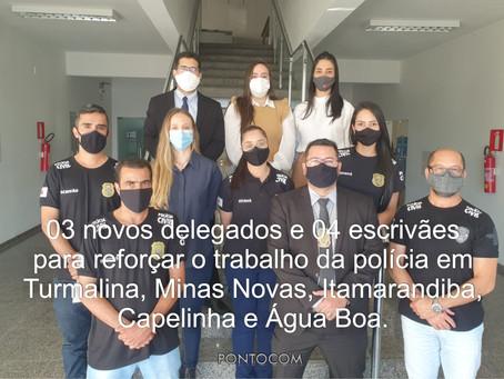 CIDADES DA REGIÃO COM NOVOS DELEGADOS DE POLÍCIA.