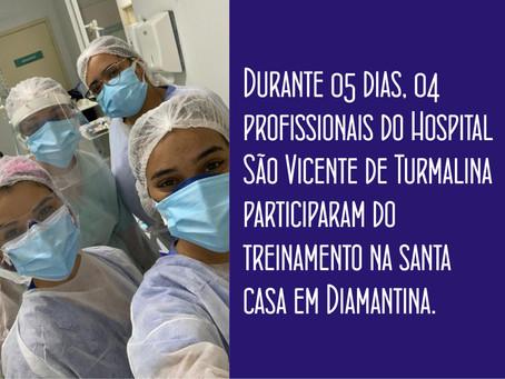 HOSPITAL DE TURMALINA INVESTE EM CAPACITAÇÃO E TREINAMENTO EM HEMODIÁLISE.