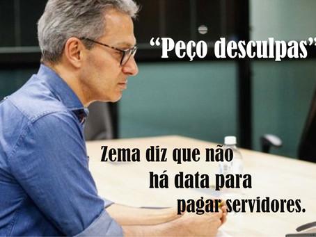 MINAS GERAIS – GOVERNO SEM DATA PARA PAGAMENTO DE SERVIDORES.