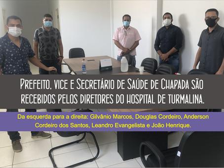 PARCERIA ENTRE O HOSPITAL DE TURMALINA E A PREFEITURA DE CHAPADA DO NORTE.