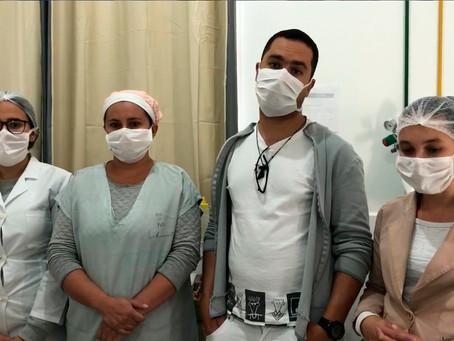 TURMALINA – FUNCIONÁRIOS DO HOSPITAL FALAM SOBRE ALA DESTINADA AO COVID 19.