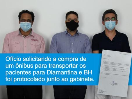 TURMALINA - VEREADOR TÚ DO HOSPITAL É RECEBIDO PELO DEPUTADO IGOR TIMO.
