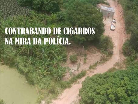NOVO CRUZEIRO – POLÍCIA USA HELICÓPTERO PARA PERSEGUIR CONTRABANDISTAS.