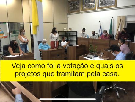 TURMALINA – RESUMO DA REUNIÃO DA CÂMARA MUNICIPAL DESTA SEGUNDA-FEIRA.