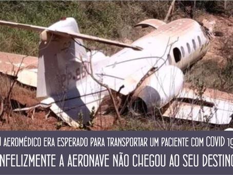 DIAMANTINA – QUEDA DE AVIÃO NA MANHÃ DESTE SÁBADO.
