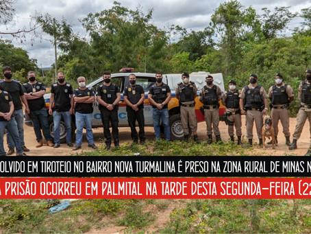 MINAS NOVAS – OPERAÇÃO POLICIAL RESULTA EM PRISÃO.