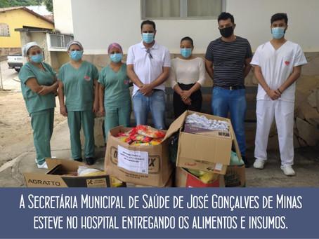 POPULAÇÃO DE JOSÉ GONÇALVES DE MINAS SE MOBILIZA PARA AJUDAR O HOSPITAL DE TURMALINA.