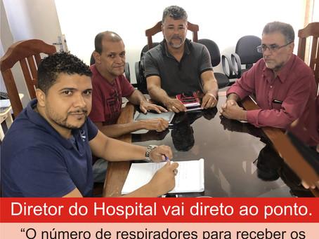 TURMALINA – CÂMARA CONVOCA REPRESENTANTES DA SAÚDE PÚBLICA PARA FALAREM SOBRE O CORONAVÍRUS.