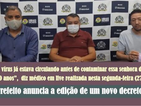 MINAS NOVAS – MÉDICO DIZ QUE PODERÃO SURGIR NOVOS CASOS.