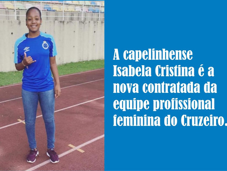 CAPELINHA – TIME FEMININO DO CRUZEIRO GANHA REFORÇOS.