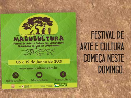 MINAS NOVAS – COMUNIDADE QUILOMBOLA REALIZA FESTIVAL DE ARTE E CULTURA.