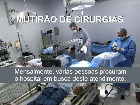 HOSPITAL DE TURMALINA REALIZA CIRURGIAS DE CATARATA.