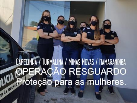 CAPELINHA – POLÍCIA CIVIL NO COMBATE À VIOLÊNCIA DOMÉSTICA.