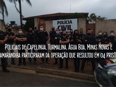 OPERAÇÃO CONJUNTA DA POLÍCIA CIVIL MOBILIZA 29 AGENTES.