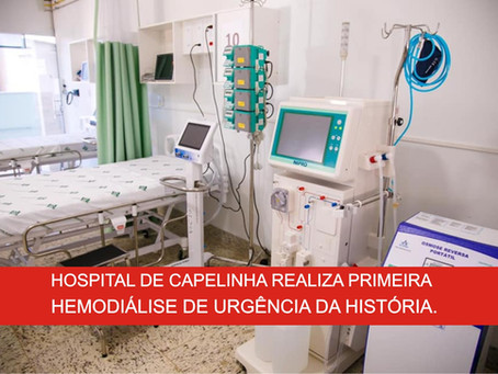 CAPELINHA – HOSPITAL REALIZA FEITO HISTÓRICO.