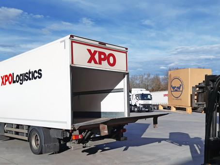 La solidaridad de XPO Logistics con los Bancos de Alimentos, a favor de los más desfavorecidos