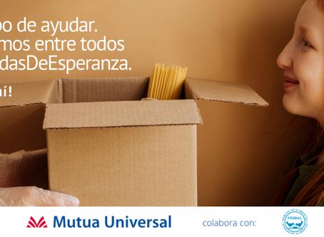 CAMPAÑA DE RECOGIDA DE ALIMENTOS DE MUTUA UNIVERSAL PARA FESBAL