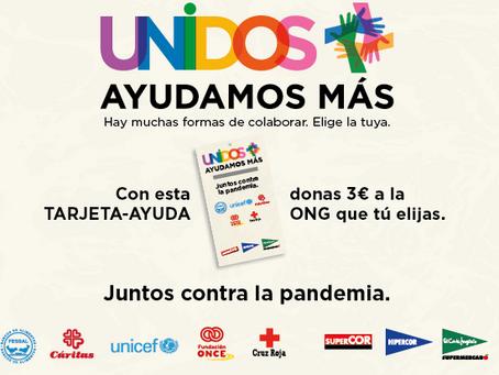 EL CORTE INGLÉS COLABORA CON CINCO ONG, ENTRE ELLAS FESBAL, PARA LANZAR TARJETAS SOLIDARIAS