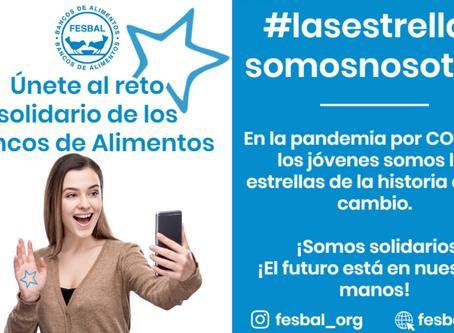 LA JUVENTUD CON FESBAL Y LOS BANCOS DE ALIMENTOS CON  #lasestrellassomosnosotrxs