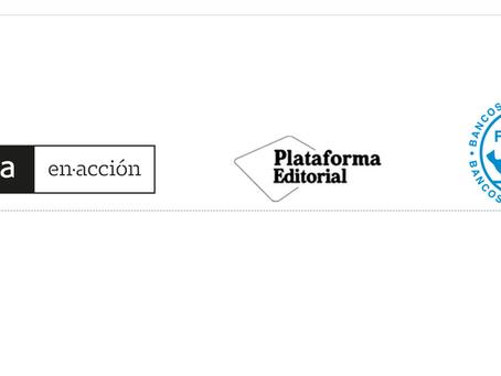 BANKIA en-acción Y LA PLATAFORMA EDITORIAL CON LOS BANCOS DE ALIMENTOS