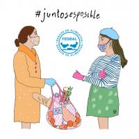 UN GRUPO DE UNIVERSITARIOS LANZAN LA CAMPAÑA DE DONACIONES #JUNTOSESPOSIBLE