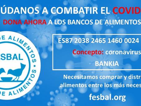 FESBAL se esfuerza para garantizar la ayuda alimentaria en la crisis del COVID-19