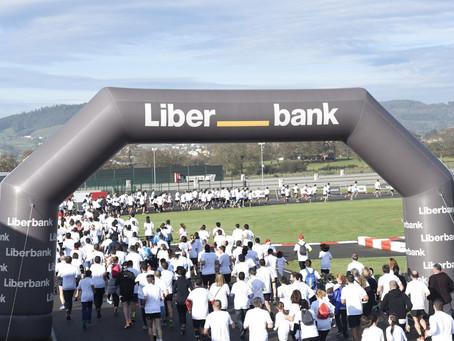 Carrera solidaria de Liberbank y Fundación Fernando Alonso a favor de los Bancos Alimentos