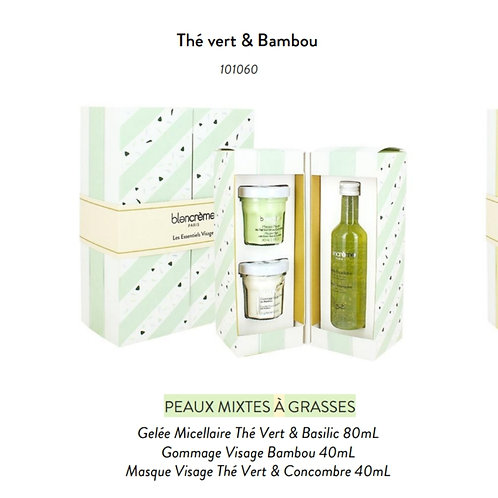 Coffret soin visage Thé vert & Bambou