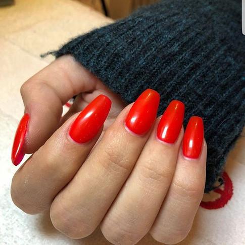 Remplissage gel couleur rouge de mars _r