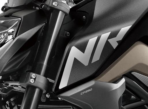 CF Moto aposta em naked de 250 cc
