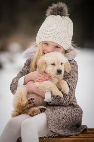 Familienfotografie, Kind, Natur, Foto, lachen, Hund